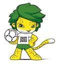 Zakumi - Mascotte de la Coupe du Monde FIFA 2010 Afrique du Sud