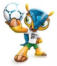 Fuleko - Mascotte de la Coupe du Monde FIFA 2014 Bresil